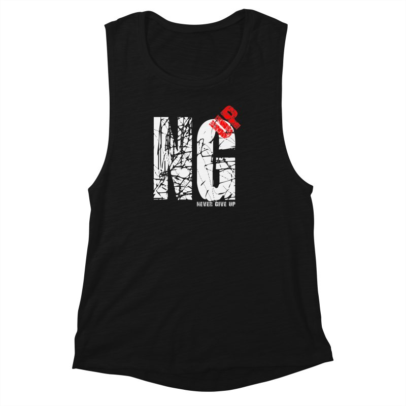 NG UP White Women's Muscle Tank by chicharostudios's  Shop