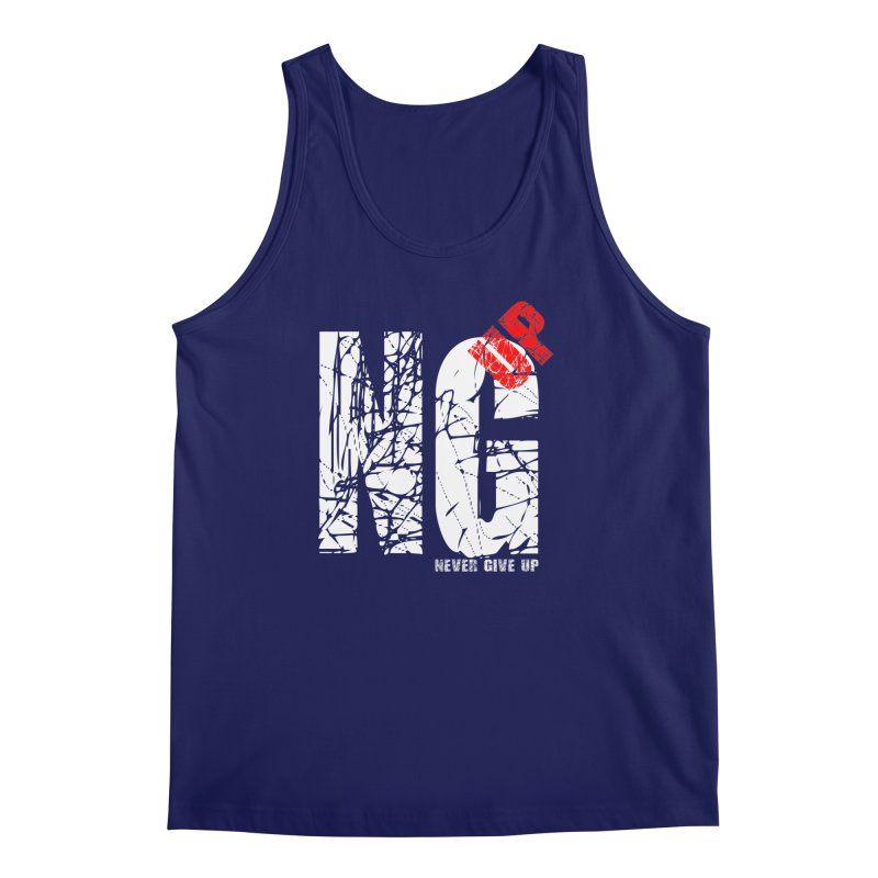 NG UP White Men's Regular Tank by chicharostudios's  Shop
