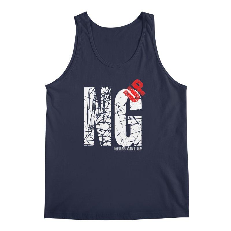 NG UP White Men's Regular Tank by chicharostudios's  Shop