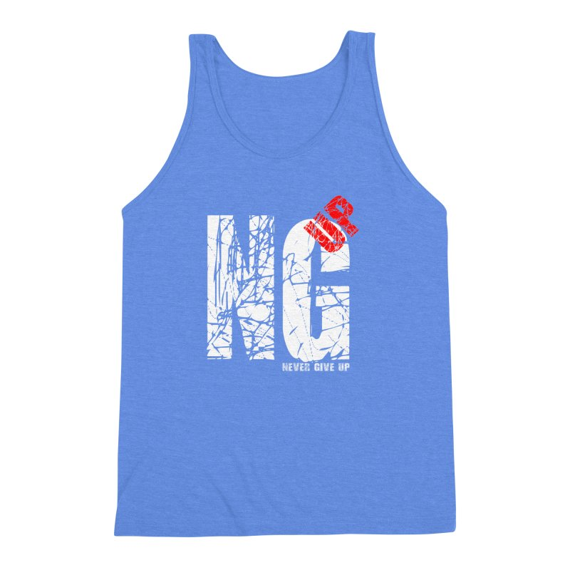 NG UP White Men's Triblend Tank by chicharostudios's  Shop
