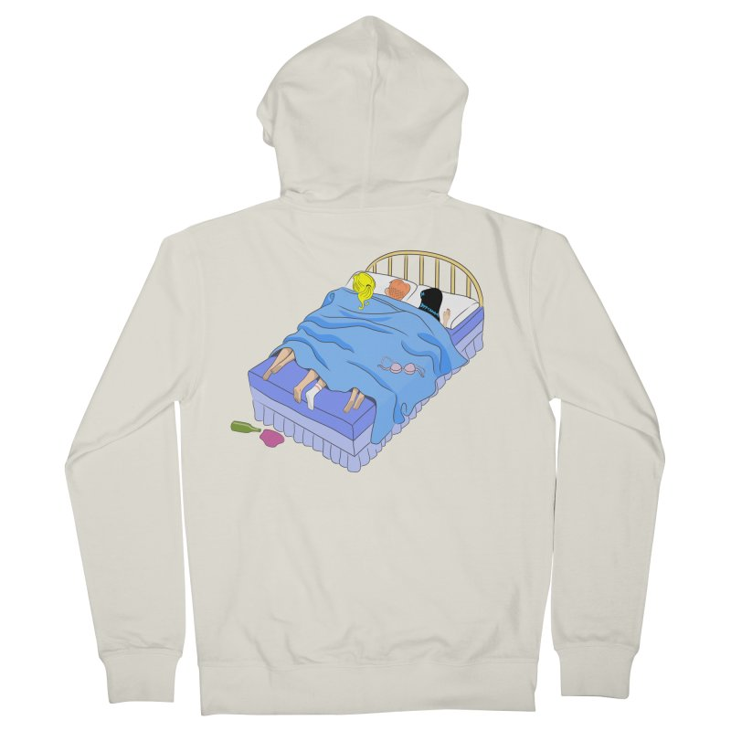 Untitled (The Lost Digest) Women's French Terry Zip-Up Hoody by Chick & Owl Artist Shop
