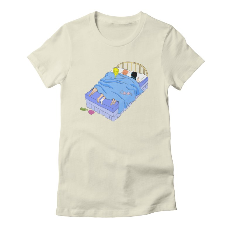 Untitled (The Lost Digest) Women's Fitted T-Shirt by Chick & Owl Artist Shop