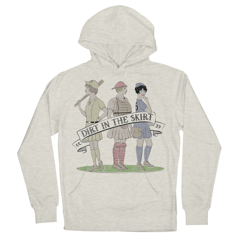 Dirt in the Skirt Men's French Terry Pullover Hoody by Chick & Owl Artist Shop