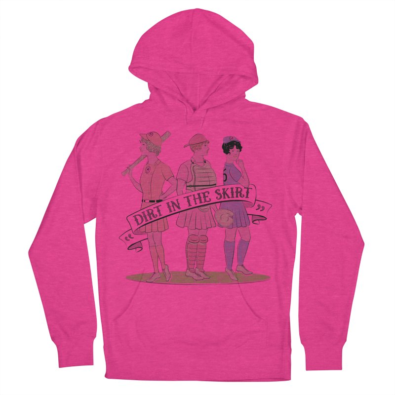 Dirt in the Skirt Men's Pullover Hoody by Chick & Owl Artist Shop