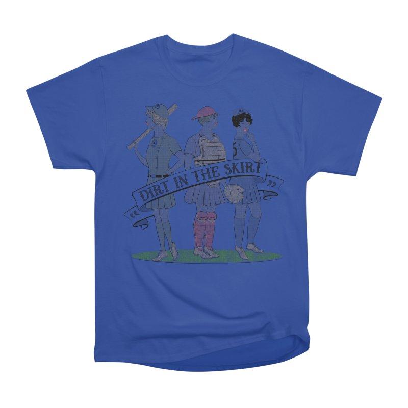 Dirt in the Skirt Men's Heavyweight T-Shirt by Chick & Owl Artist Shop