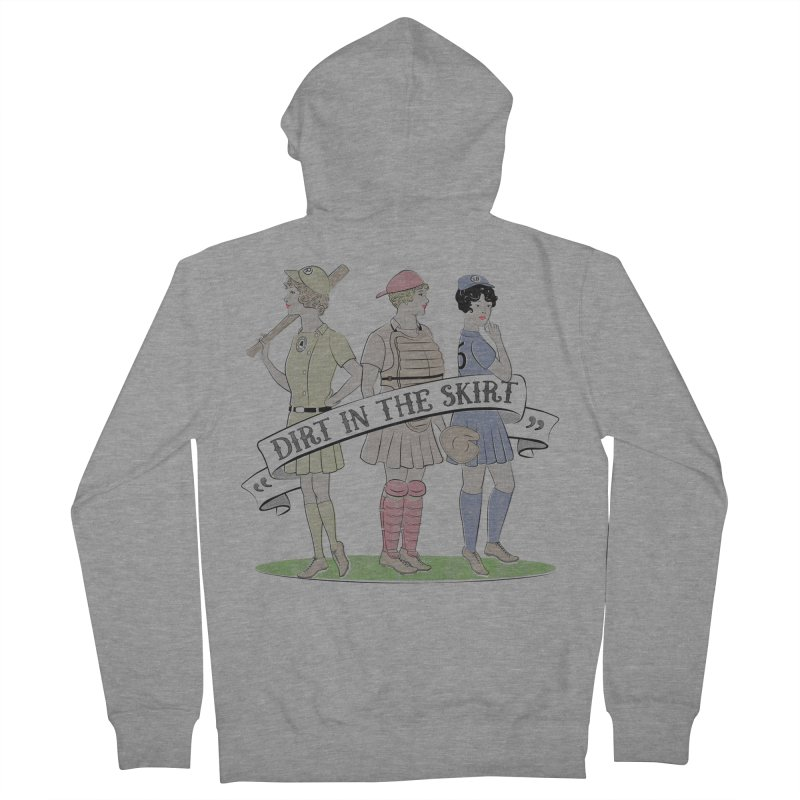 Dirt in the Skirt Women's Zip-Up Hoody by Chick & Owl Artist Shop