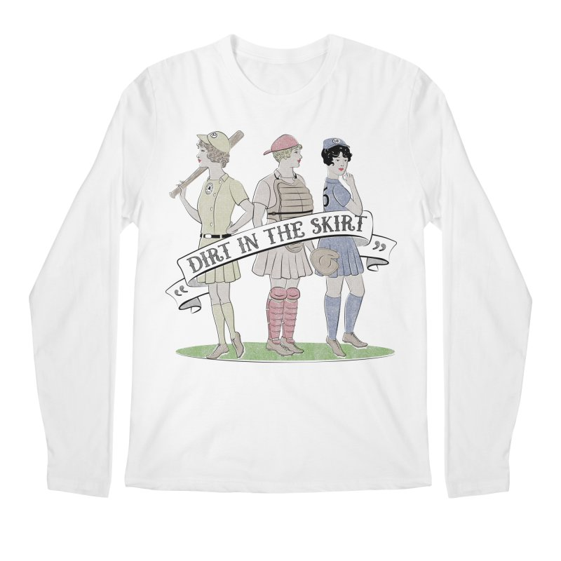 Dirt in the Skirt Men's Regular Longsleeve T-Shirt by Chick & Owl Artist Shop