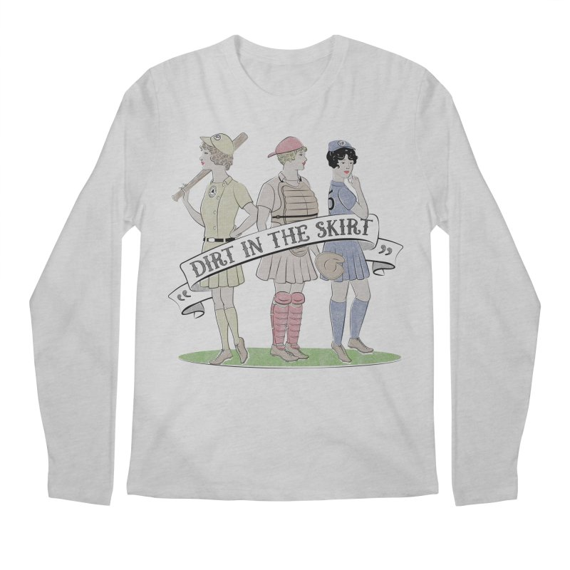 Dirt in the Skirt Men's Longsleeve T-Shirt by Chick & Owl Artist Shop