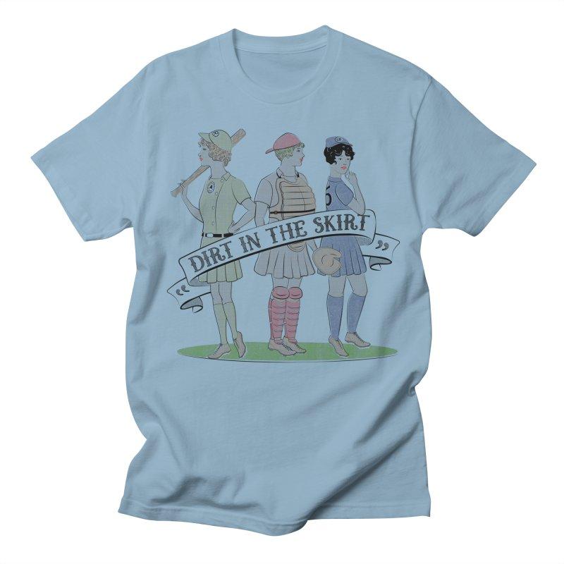 Dirt in the Skirt Men's Regular T-Shirt by Chick & Owl Artist Shop