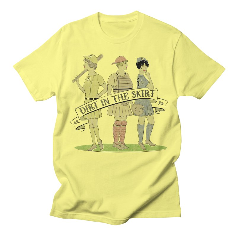 Dirt in the Skirt Men's Regular T-Shirt by Chick & Owl Artist Shop