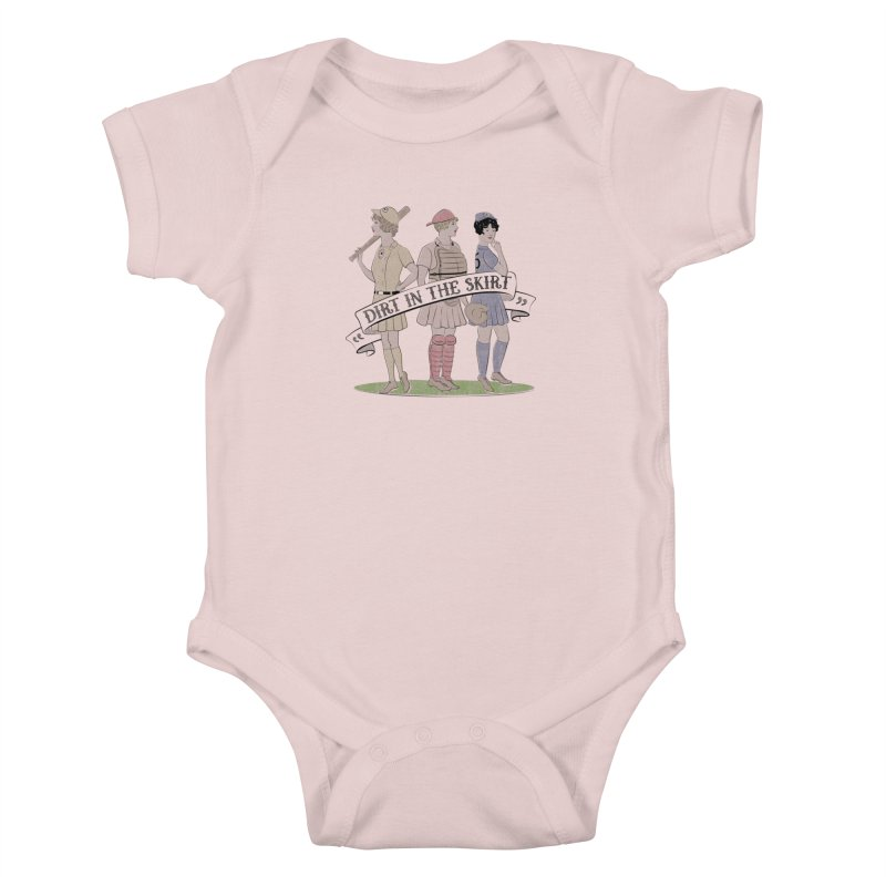 Dirt in the Skirt Kids Baby Bodysuit by Chick & Owl Artist Shop