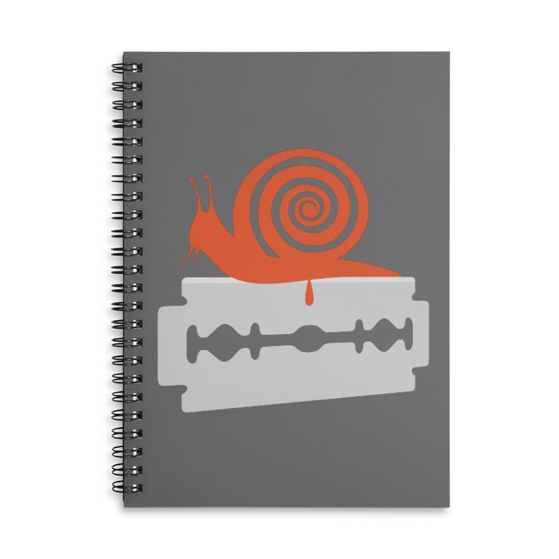 The Horror Accessories Lined Spiral Notebook by Chick & Owl Artist Shop