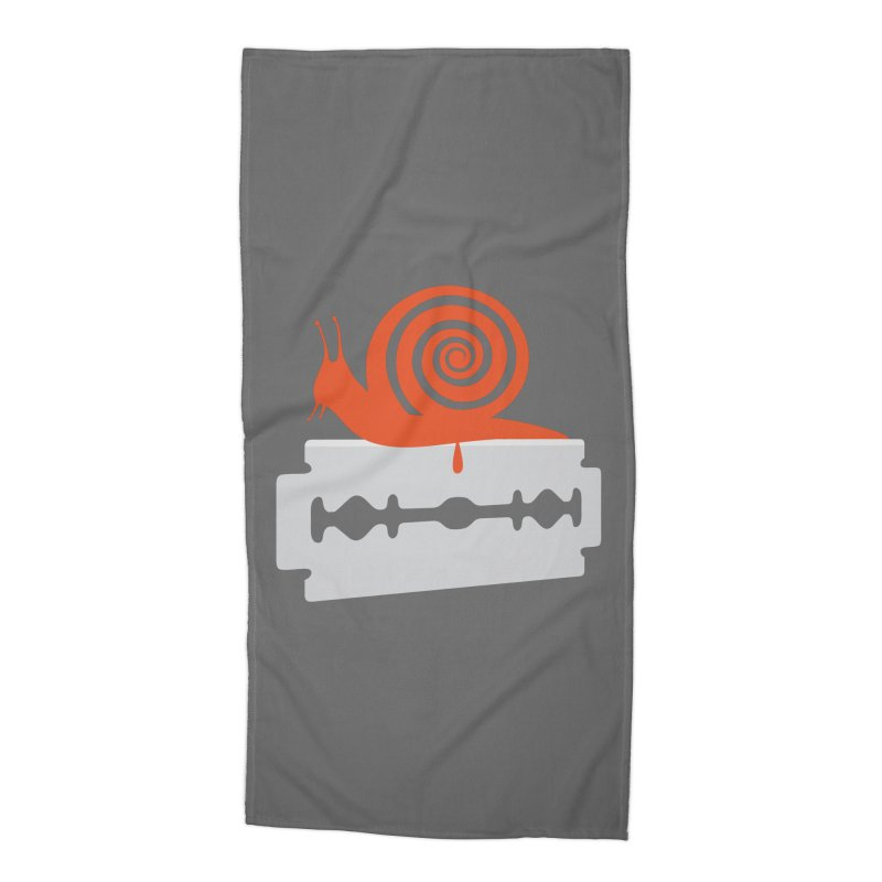 The Horror Accessories Beach Towel by Chick & Owl Artist Shop