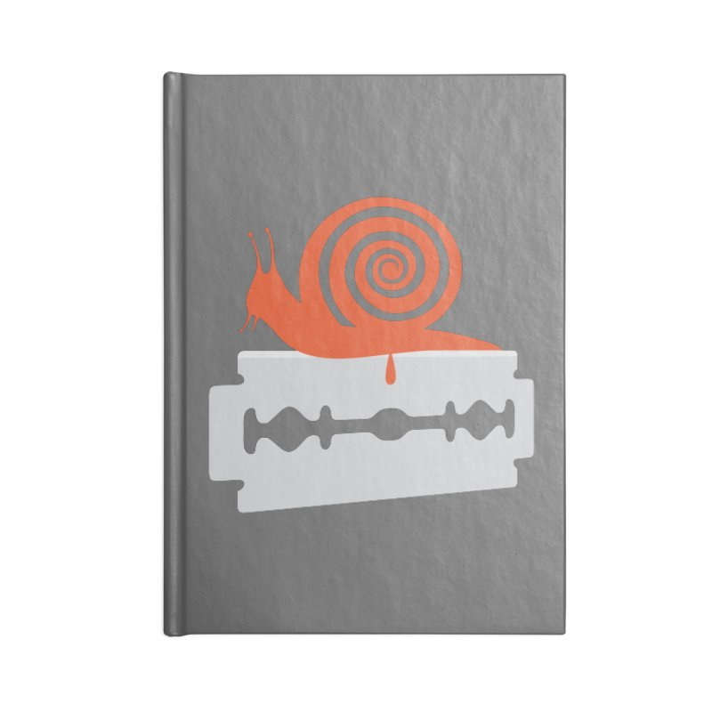 The Horror Accessories Blank Journal Notebook by Chick & Owl Artist Shop