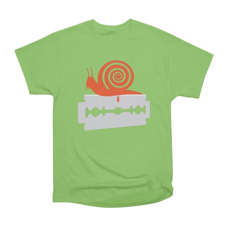 The Horror Men's Heavyweight T-Shirt by Chick & Owl Artist Shop