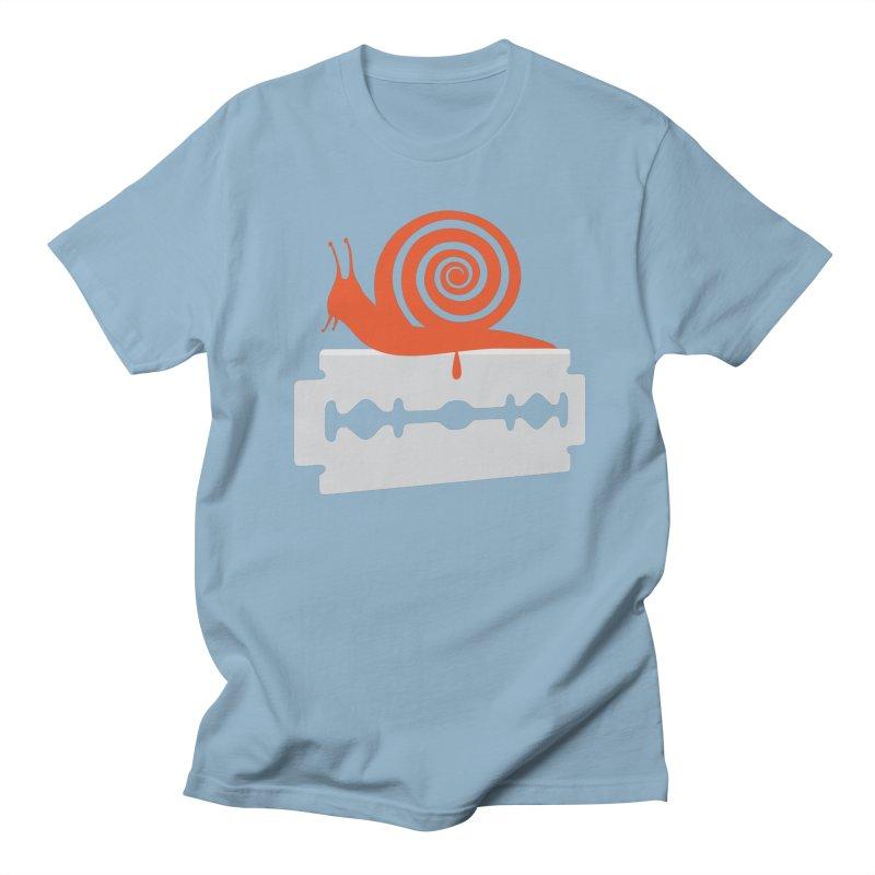 The Horror Men's Regular T-Shirt by Chick & Owl Artist Shop