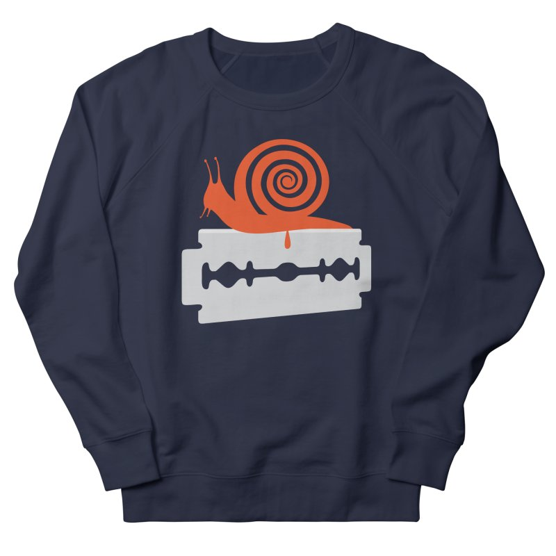 The Horror Women's French Terry Sweatshirt by Chick & Owl Artist Shop