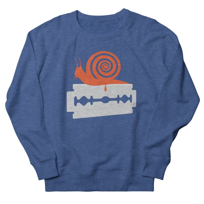 The Horror Men's French Terry Sweatshirt by Chick & Owl Artist Shop