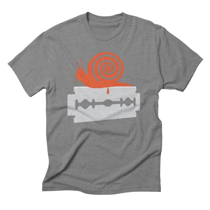 The Horror Men's Triblend T-Shirt by Chick & Owl Artist Shop