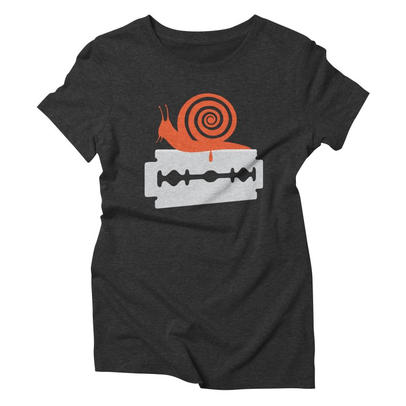 The Horror Women's Triblend T-shirt by Chick & Owl Artist Shop