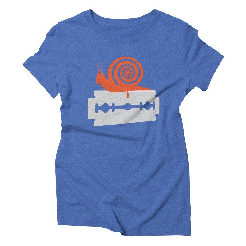 The Horror Women's Triblend T-shirt by Chick & Owl Artist Shop