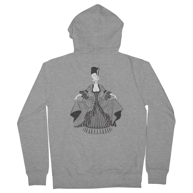 Bride of Frankie Women's French Terry Zip-Up Hoody by Chick & Owl Artist Shop