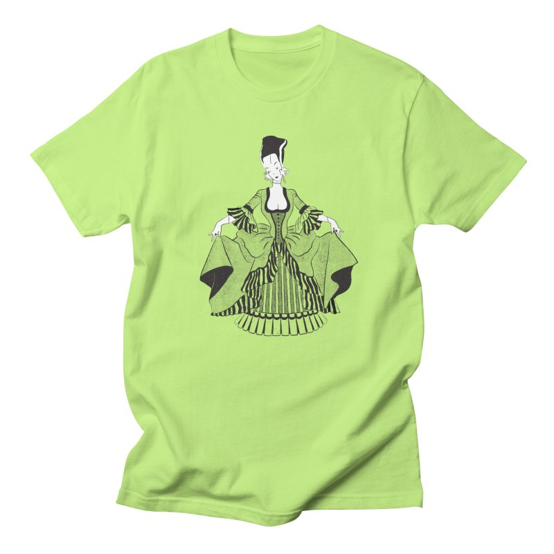 Bride of Frankie Women's Regular Unisex T-Shirt by Chick & Owl Artist Shop