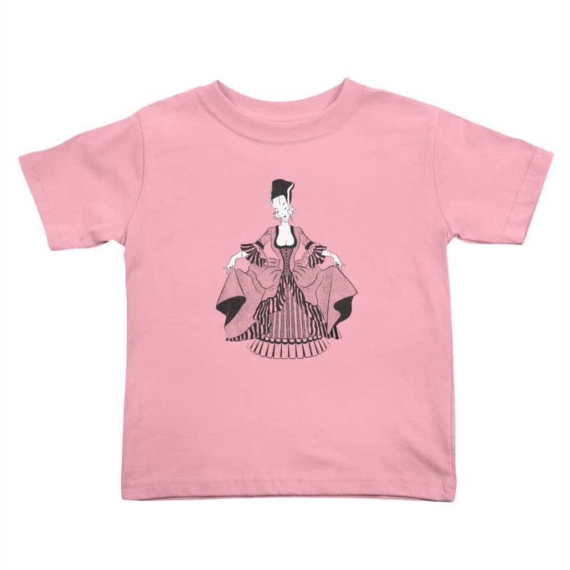 Bride of Frankie Kids Toddler T-Shirt by Chick & Owl Artist Shop