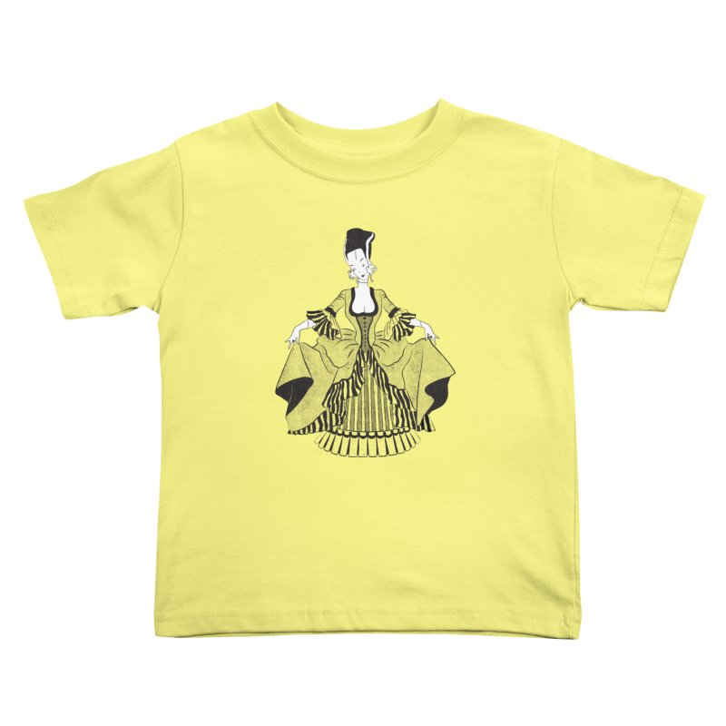 Bride of Frankie Kids Toddler T-Shirt by Chick & Owl Artist Shop