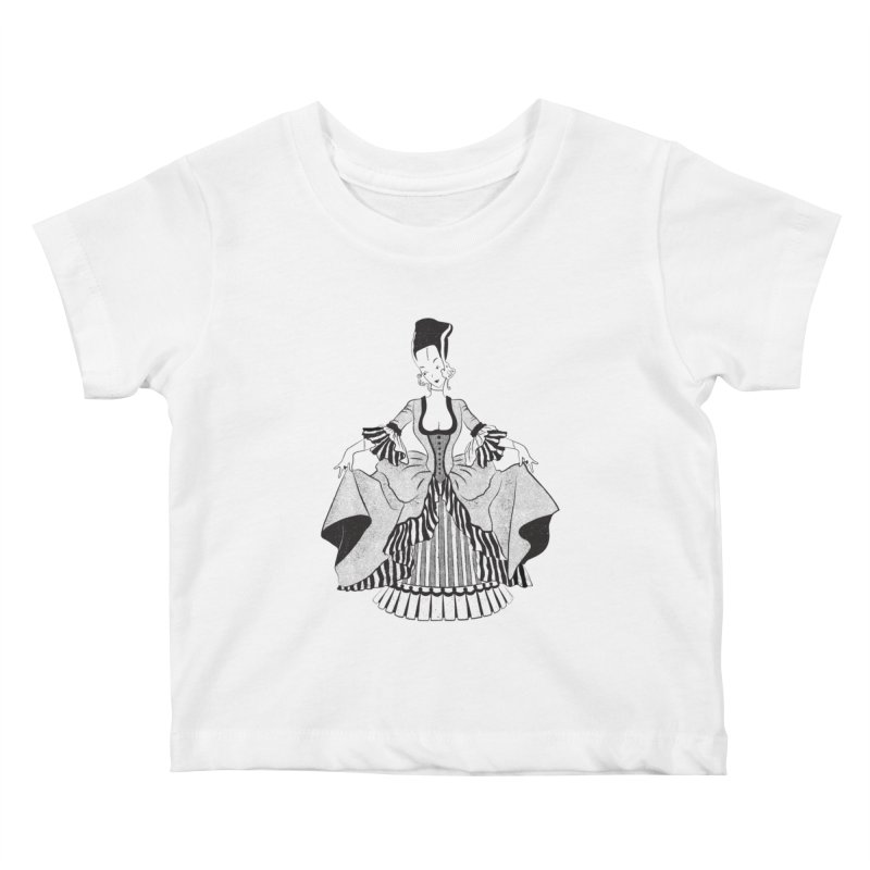 Bride of Frankie Kids Baby T-Shirt by Chick & Owl Artist Shop