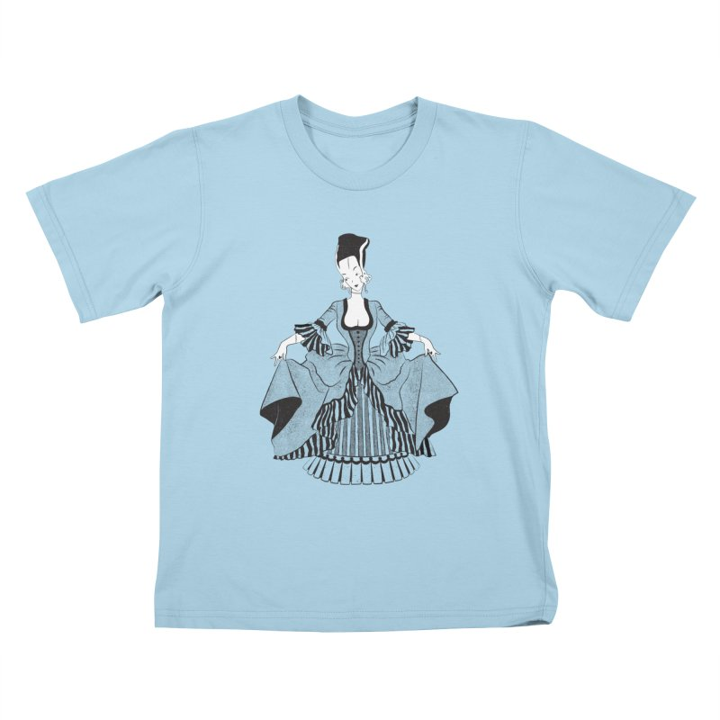 Bride of Frankie Kids T-Shirt by Chick & Owl Artist Shop