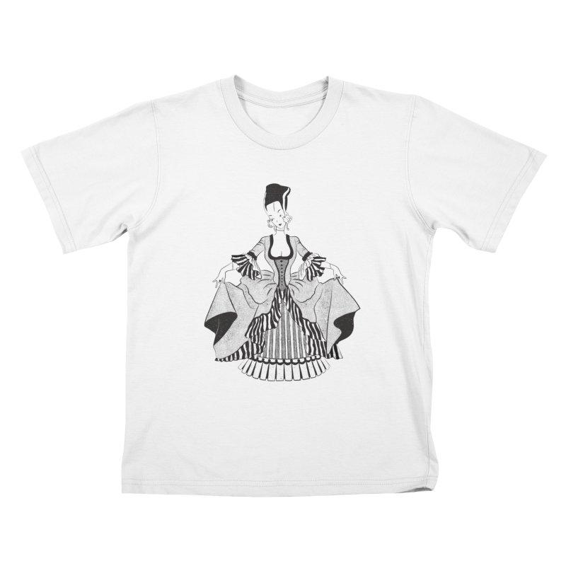 Bride of Frankie Kids T-Shirt by Chick & Owl Artist Shop