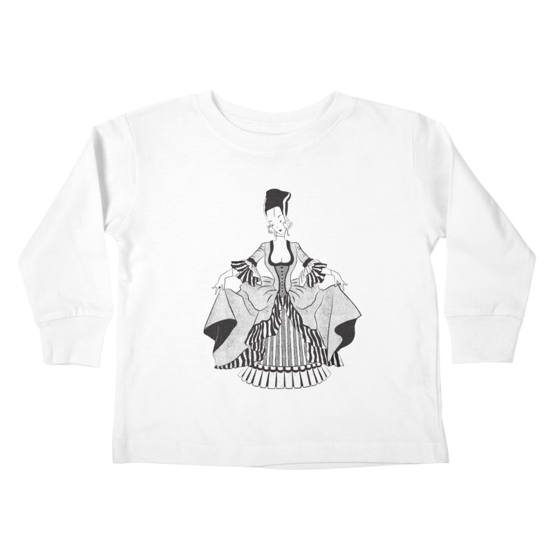 Bride of Frankie Kids Toddler Longsleeve T-Shirt by Chick & Owl Artist Shop