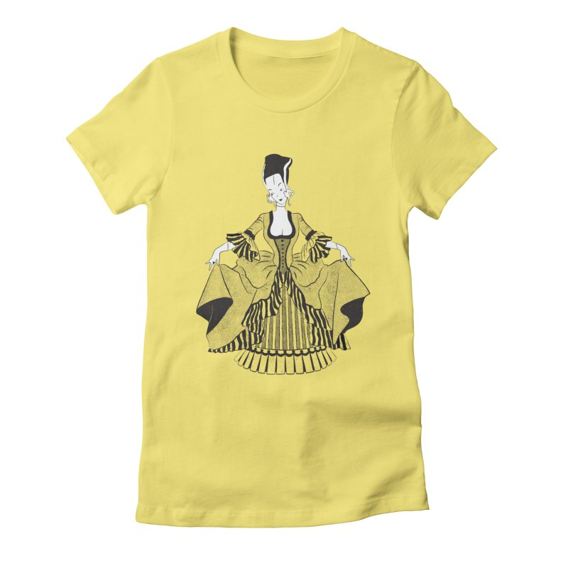 Bride of Frankie Women's Fitted T-Shirt by Chick & Owl Artist Shop