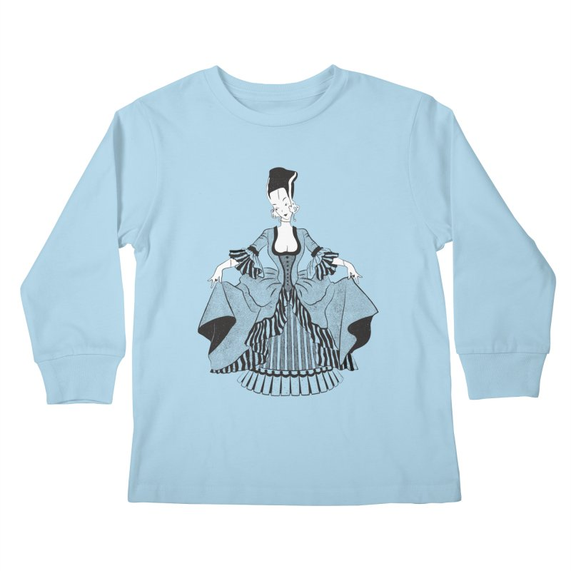 Bride of Frankie Kids Longsleeve T-Shirt by Chick & Owl Artist Shop