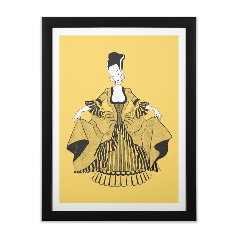 Bride of Frankie Home Framed Fine Art Print by Chick & Owl Artist Shop