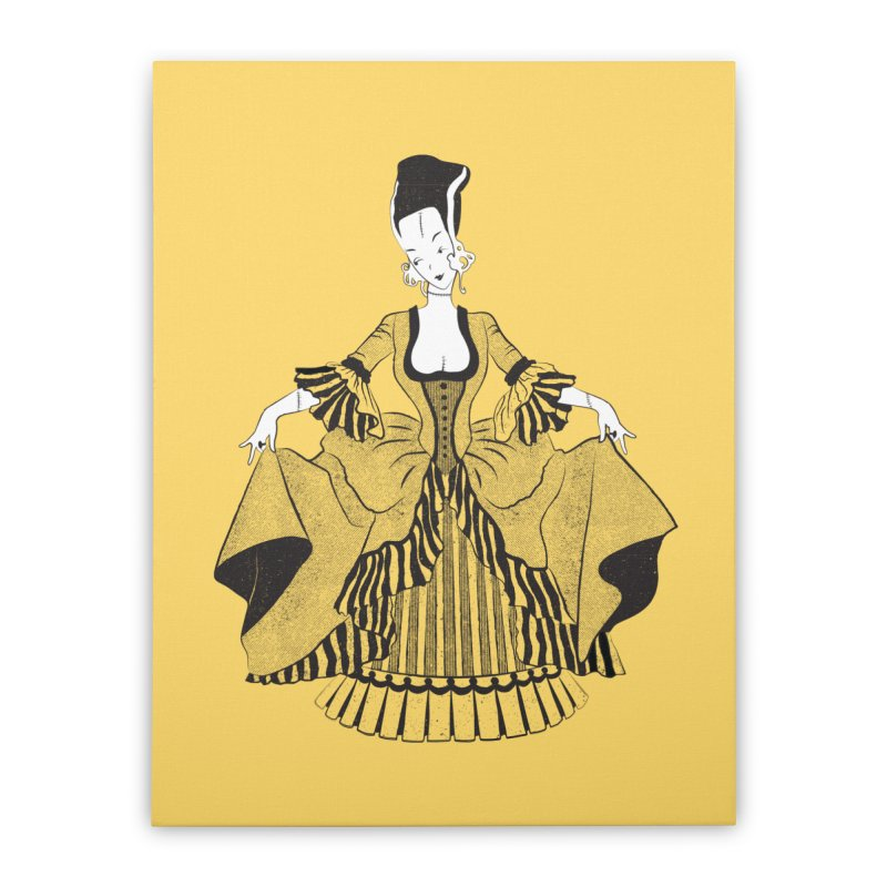 Bride of Frankie Home Stretched Canvas by Chick & Owl Artist Shop