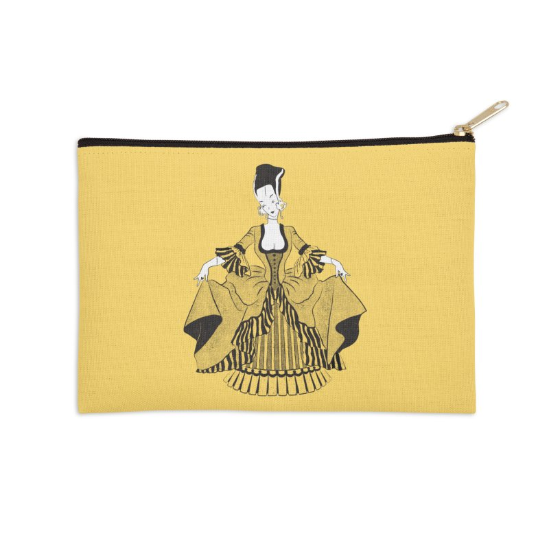 Bride of Frankie Accessories Zip Pouch by Chick & Owl Artist Shop