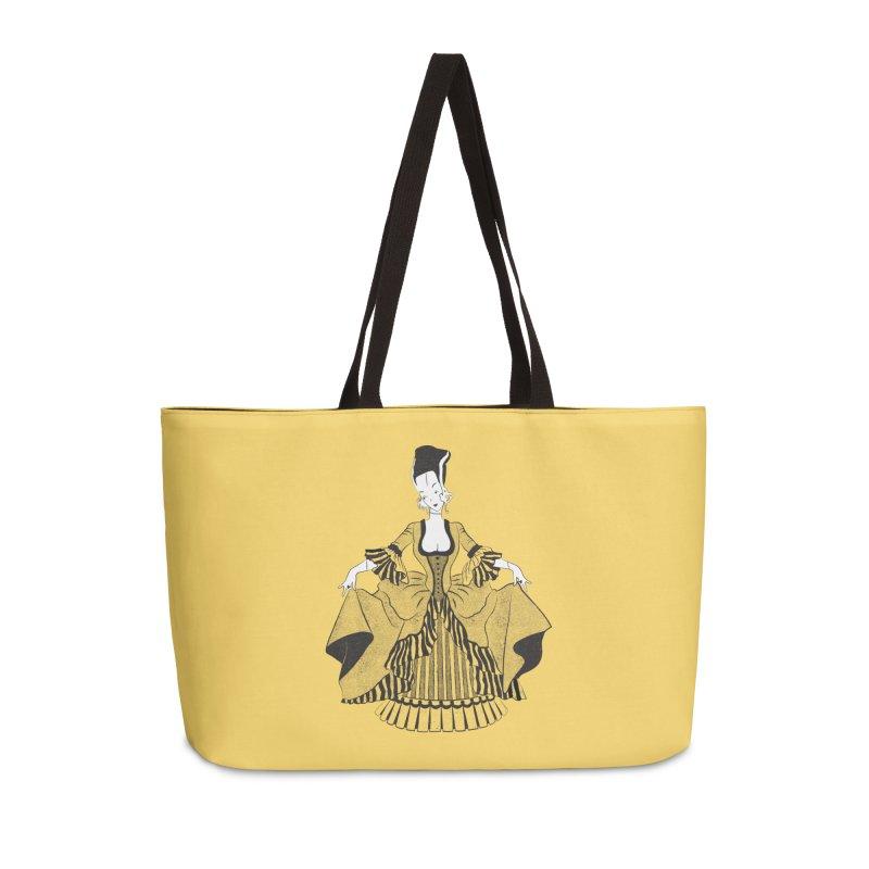 Bride of Frankie Accessories Weekender Bag Bag by Chick & Owl Artist Shop