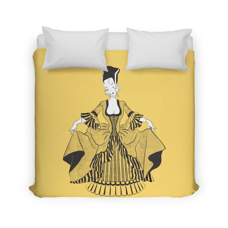 Bride of Frankie Home Duvet by Chick & Owl Artist Shop