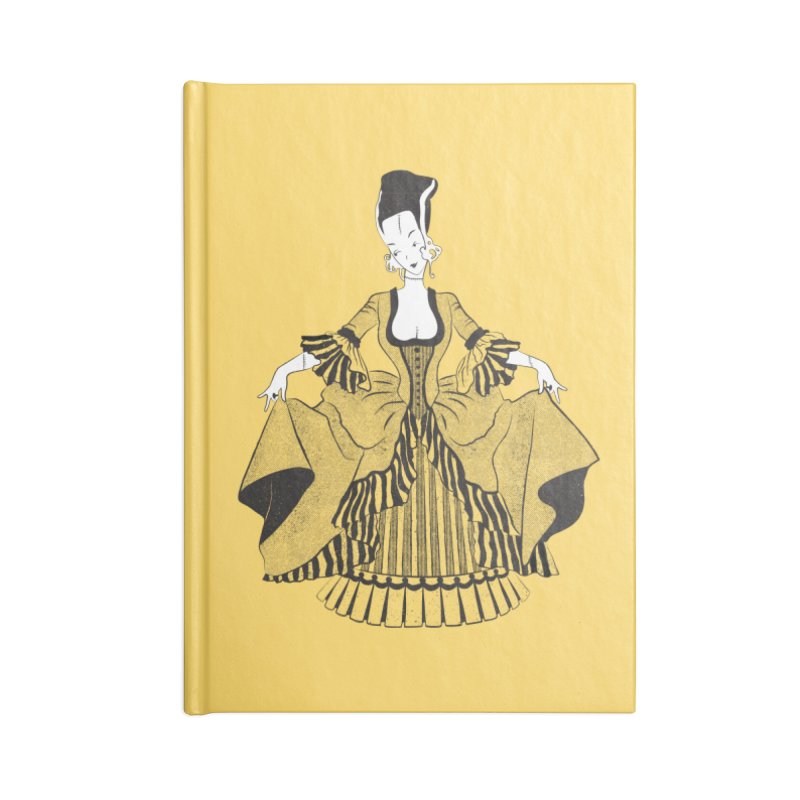Bride of Frankie Accessories Lined Journal Notebook by Chick & Owl Artist Shop