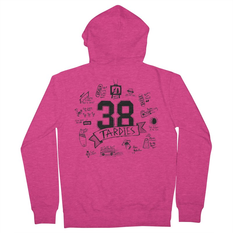 38 Tardies Women's Zip-Up Hoody by Chick & Owl Artist Shop