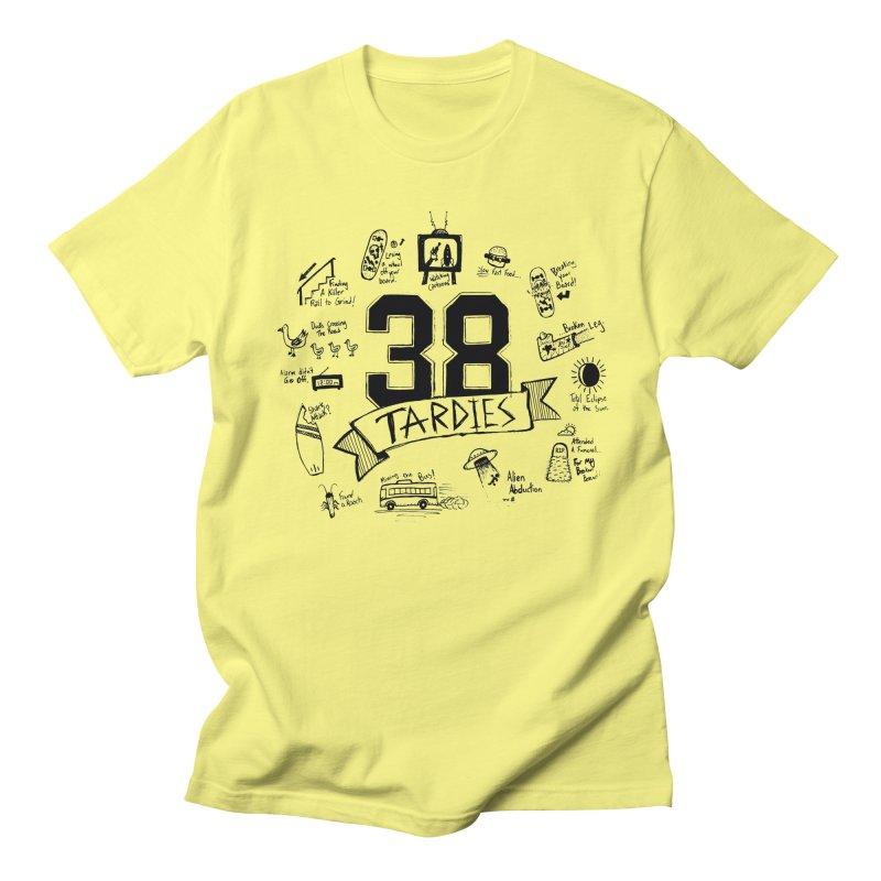 38 Tardies Men's Regular T-Shirt by Chick & Owl Artist Shop