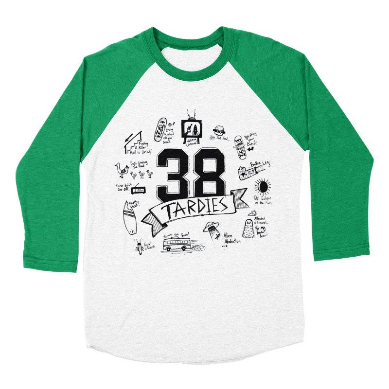 38 Tardies Women's Baseball Triblend Longsleeve T-Shirt by Chick & Owl Artist Shop
