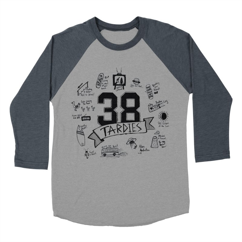 38 Tardies Women's Baseball Triblend Longsleeve T-Shirt by Chick & Owl Artist Shop