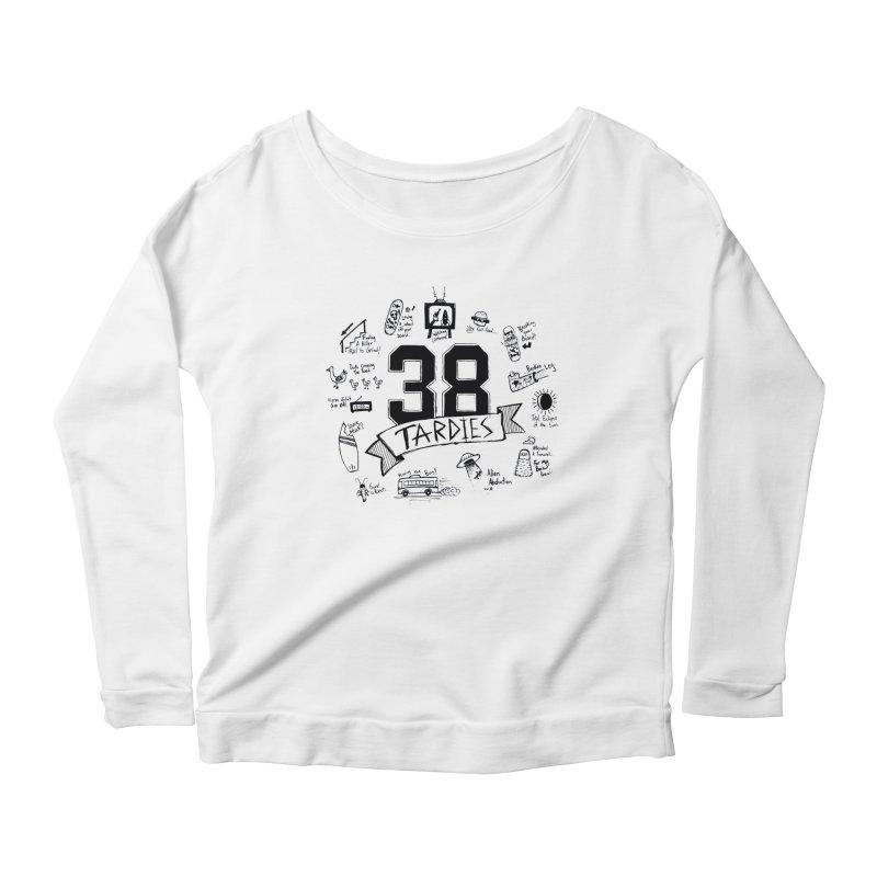 38 Tardies Women's Scoop Neck Longsleeve T-Shirt by Chick & Owl Artist Shop