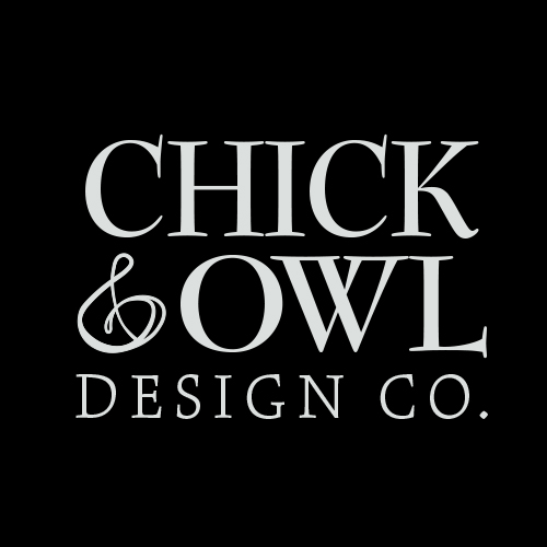 Chick & Owl Artist Shop Logo