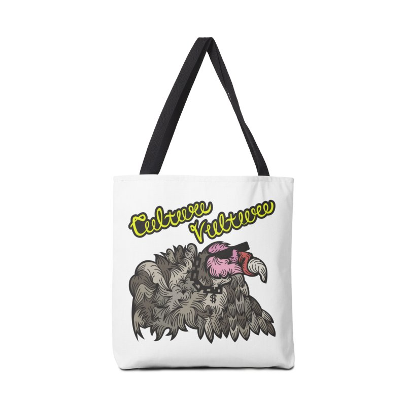 Culture Vulture Accessories Bag by Chickenbilly's Artist Shop