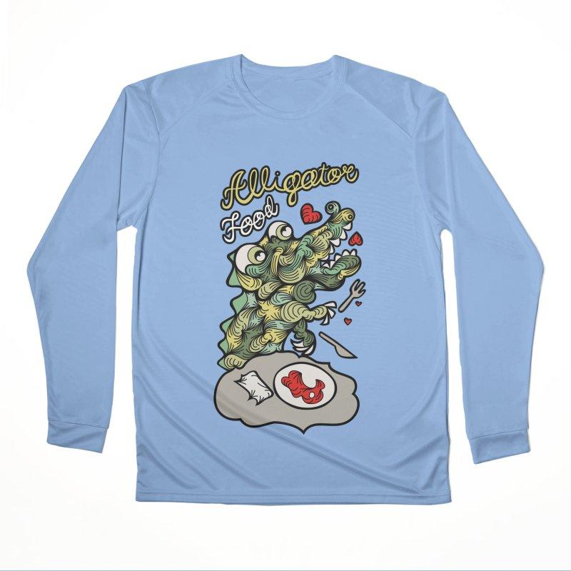 Alligator Food Women's Longsleeve T-Shirt by Chickenbilly's Artist Shop