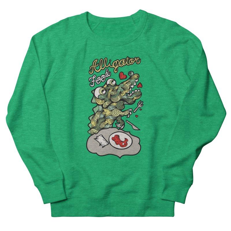 Alligator Food Women's Sweatshirt by Chickenbilly's Artist Shop
